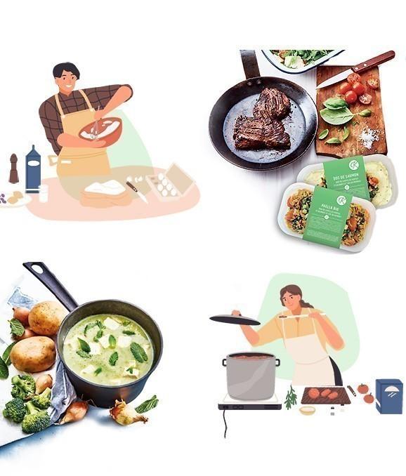 plats cuisinés histoire